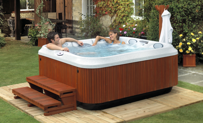 Hot tub hook up price